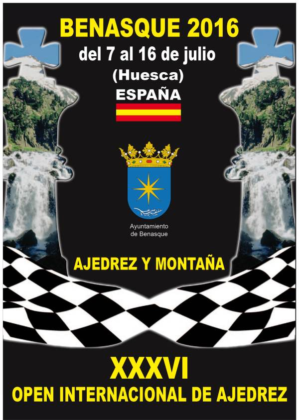 CARTEL Ajedrez Benasque 2016